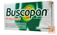 Buscopan 10 mg x 10 czop.