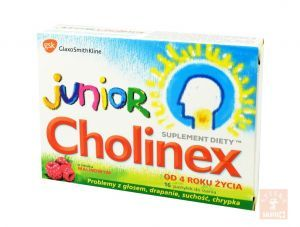 Cholinex Junior x 16 past.