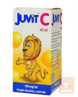 Juvit C krople 40 ml