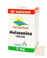 Melatonina 5 mg x 30 tabl.