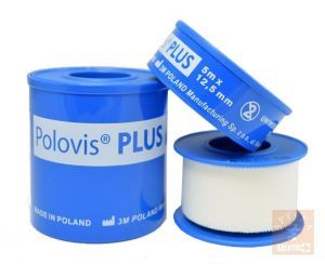 Plaster Polovis Plus 5 m x 12,5 mm