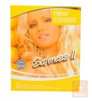 Prezerwatywy New Caress Safeness x 3 szt.